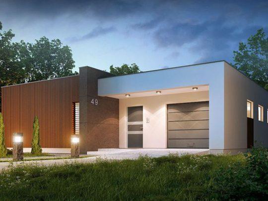 Casa moderna con hermoso diseño exterior e interior, 3 dormitorios