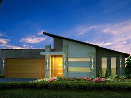 Casa de un Nivel Modelo 01