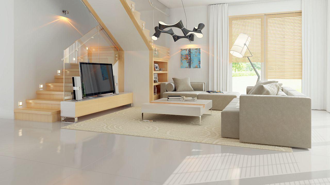 Casa moderna con espectacular dise o 4 dormitorios y 2 - Diseno casa moderna ...