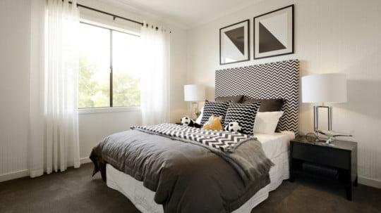 Diseño de dormitorio secundario