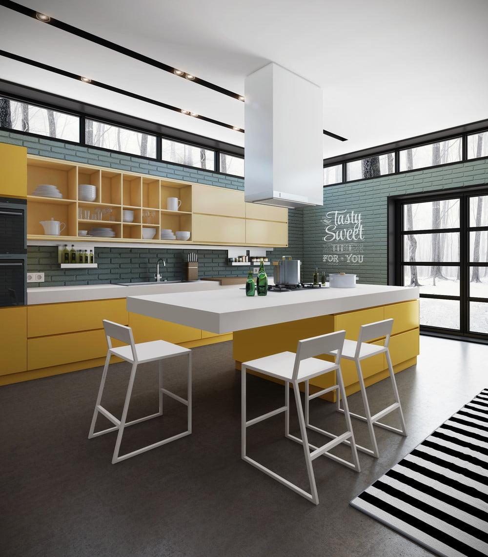 Sencillos Y Pr Cticos Dise Os De Muebles De Cocina Constructora  # Muebles Sencillos Para Cocina
