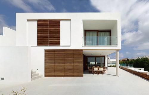 Fotos-de-Fachada-de-Casas-Minimalistas-Un-Estilo-Muy-Atractivo-blancas