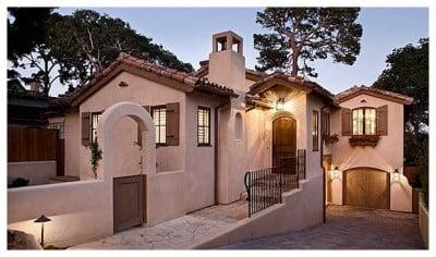 Estilo de Casa Colonial Moderna