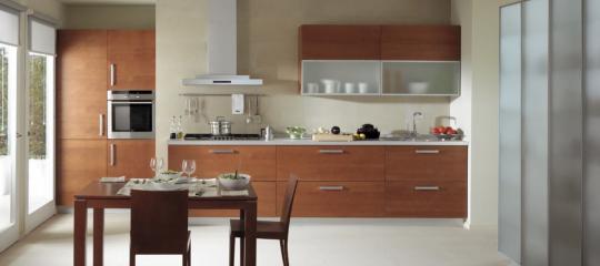 Diseño de Cocina en forma lineal
