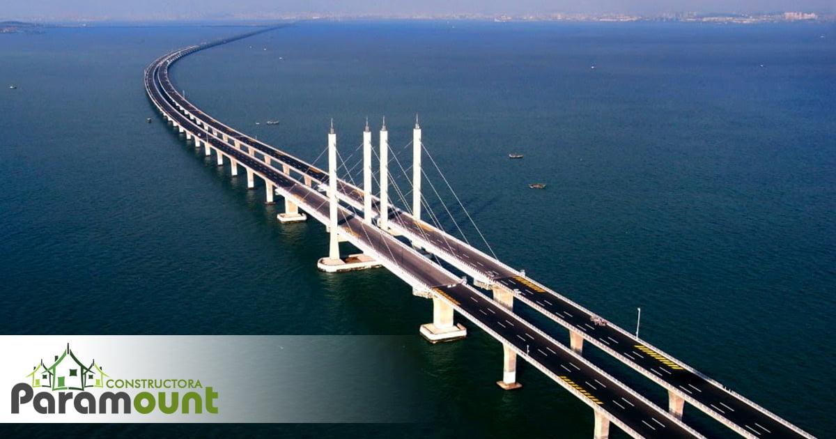 El puente más largo del mundo | Constructora Paramount