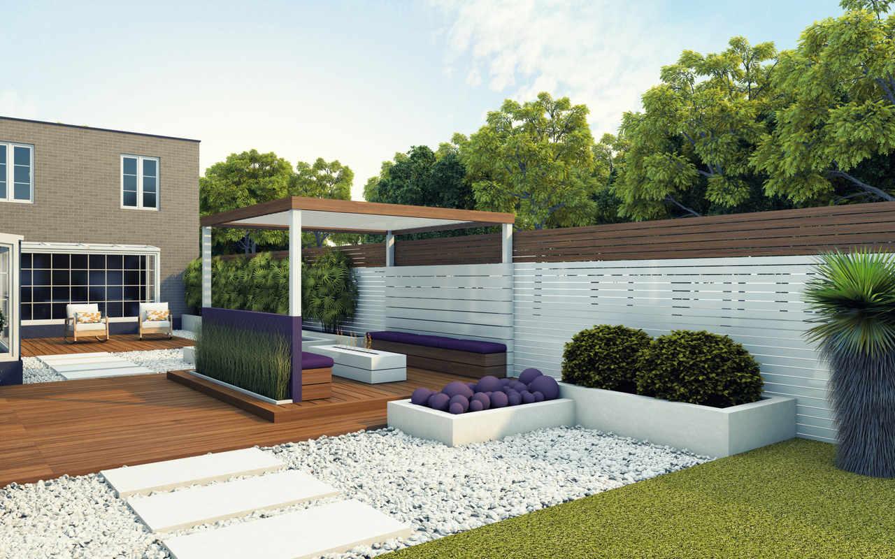 5 Disenos De Jardines Modernos Constructora Paramout