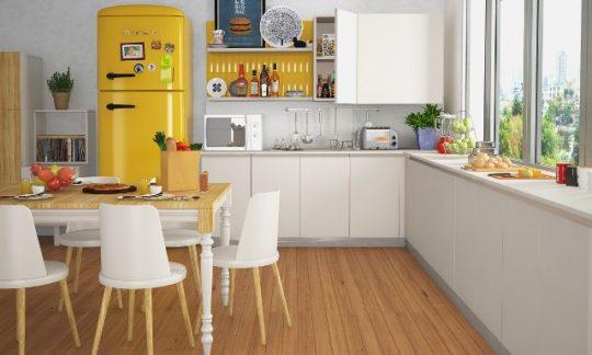 Diseño de Cocina en forma de L