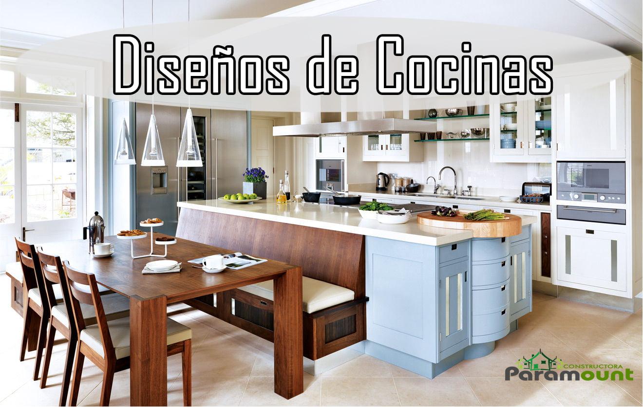 MODERNOS DISEÑOS DE COCINAS | Constructora Paramount