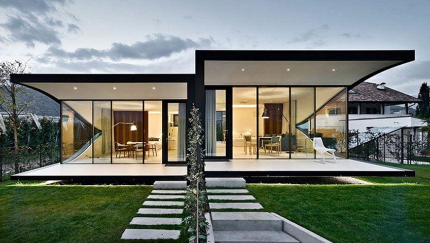 5 Diseños de Fachadas de Casas Modernas #3 - Constructora Paramount ...