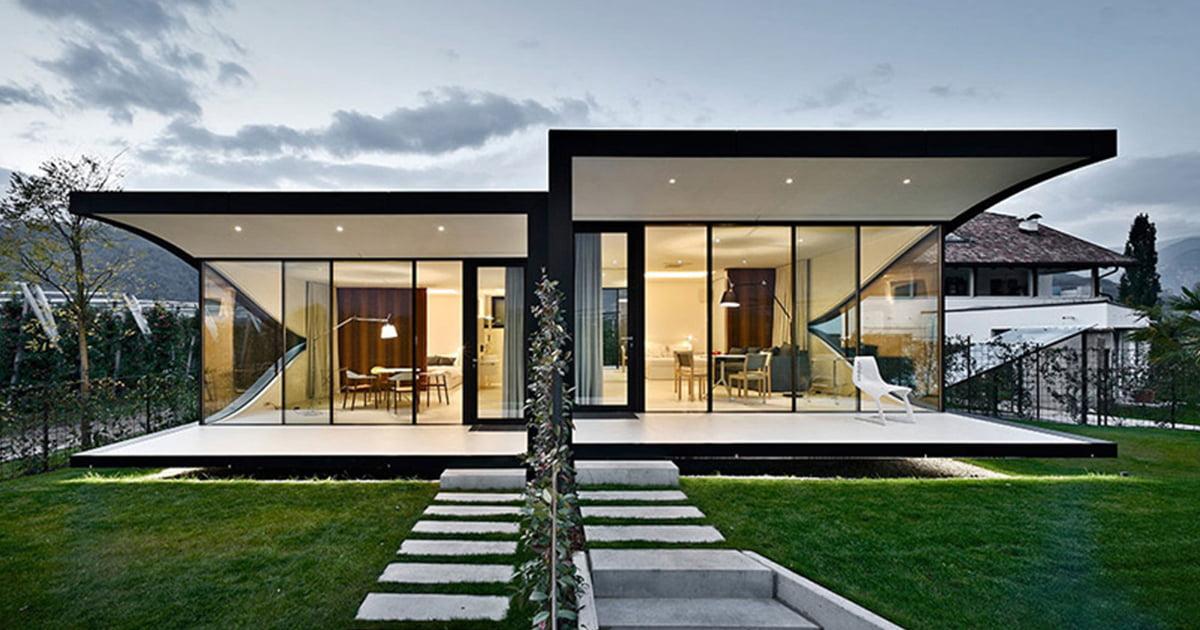 5 Diseños de Fachadas de Casas Modernas #3   Constructora Paramount