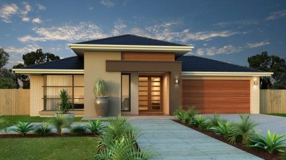5 Diseños de Fachadas de Casas Modernas #2 | Constructora Paramount