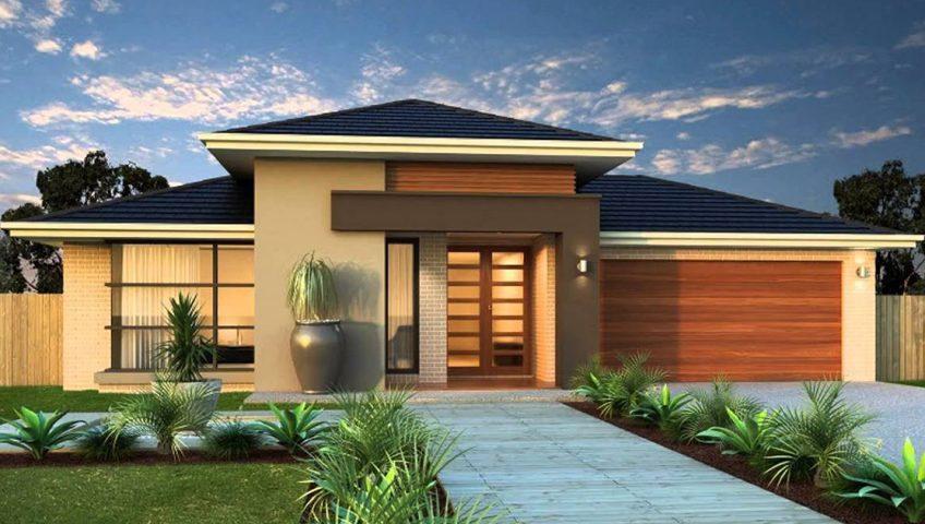 Diseo exterior de casas exterior design diseo de casa en for Fachadas de casas modernas 1 piso