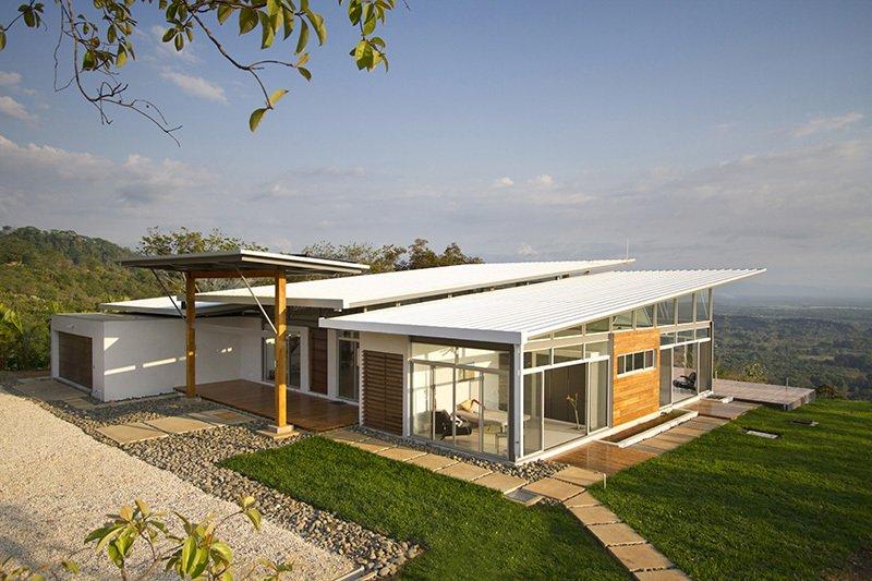 Casa campestre moderna estructura y autosustentable   Constructora Paramount