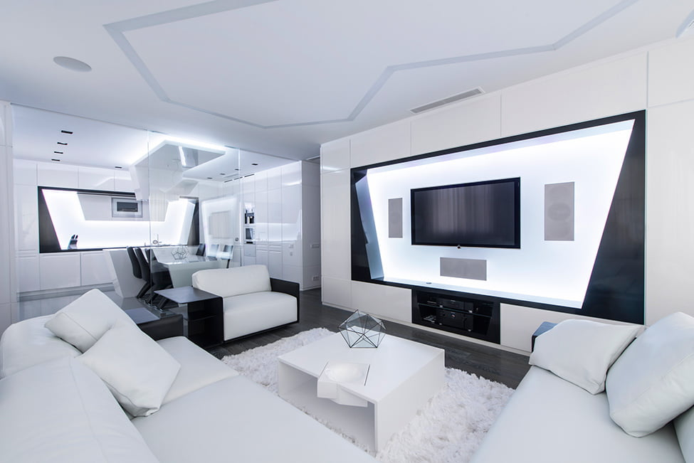 Diseño Apartamento Futurista #1 | Constructora Paramount