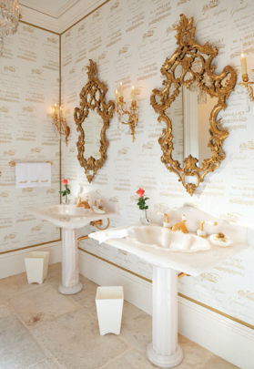 Baños de ensueños y modernos