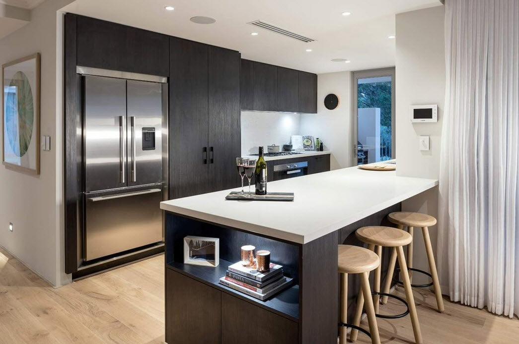 Diseño de la moderna cocina