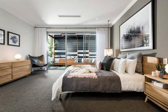 Diseño del dormitorio