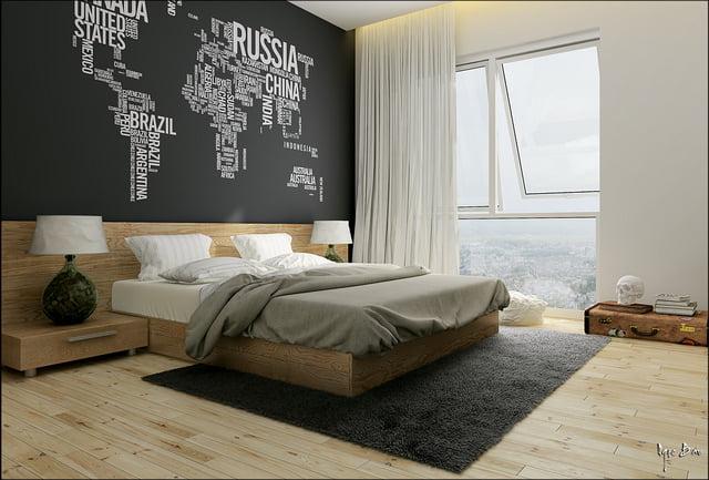 Un dormitorio ideal para un joven o una pareja de aventureros (Ngọc Báu)