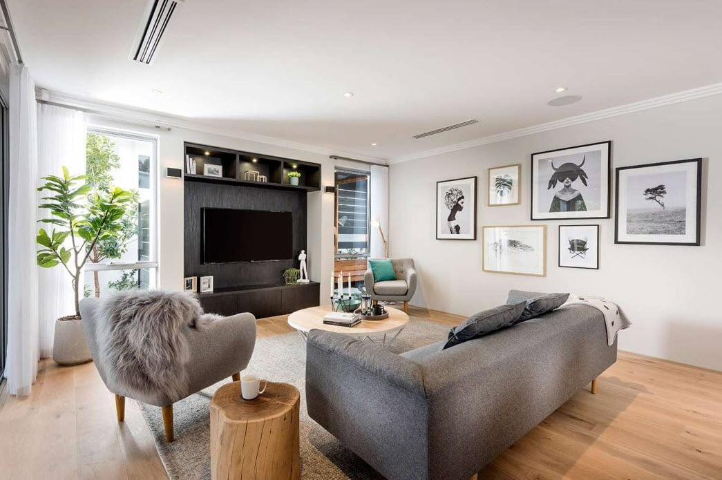 Diseño del estar tv