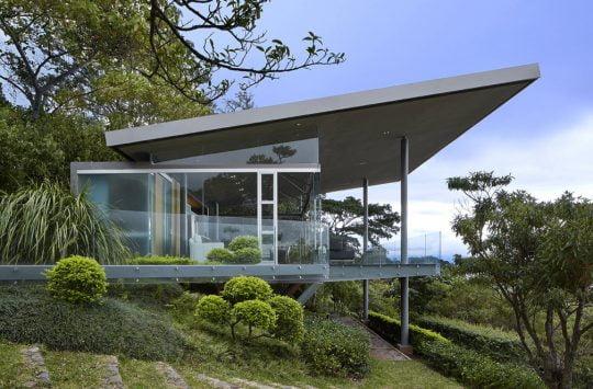 Fachada lateral – Diseño: Arq. Victor Cañas