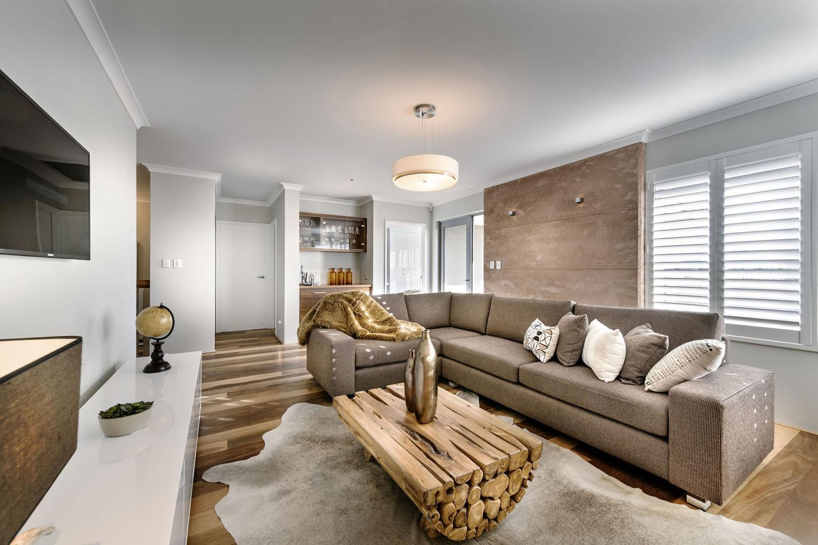 En el segundo piso se ubica un estar exclusivo para la zona privada que tiene acceso directo al balcón