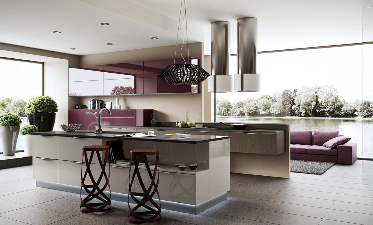 Diseño-de-cocina-contemporánea-al-estilo-arte-pop - Constructora ...