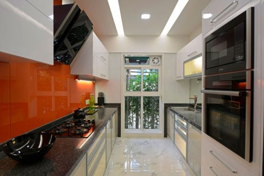 Diseño de apartamento de tres habitaciones | Constructora Paramount
