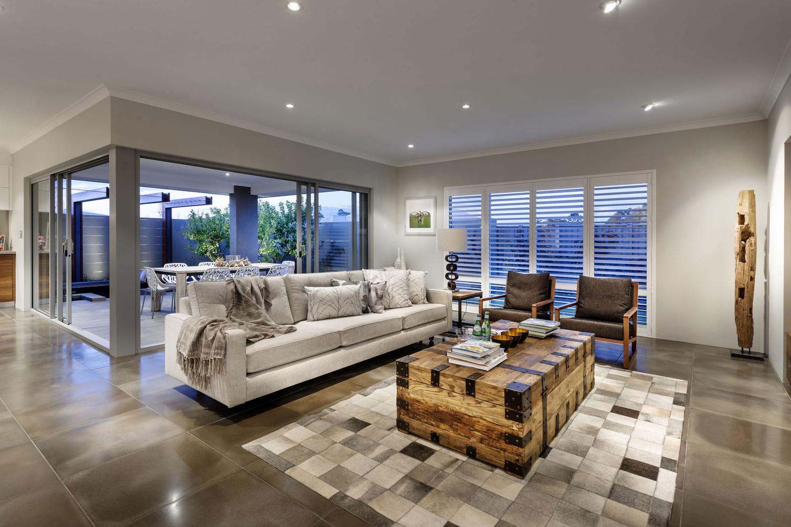 Casa Moderna De Dos Pisos Y Hermoso Diseno Constructora Paramount - Casa-de-diseo-de-interiores