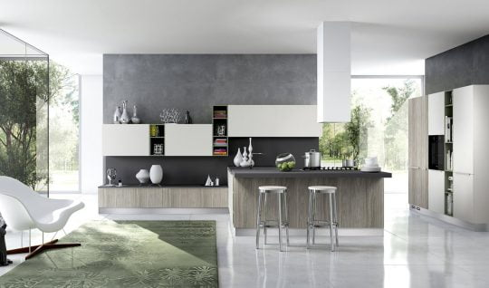 Diseño de cocinas modernas al estilo arte pop | Constructora Paramount