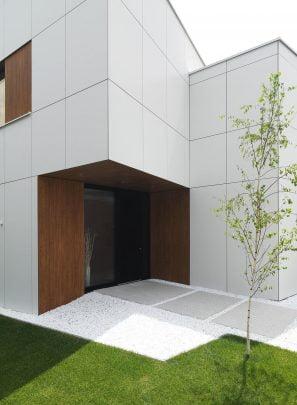 Diseño del ingreso principal a la casa