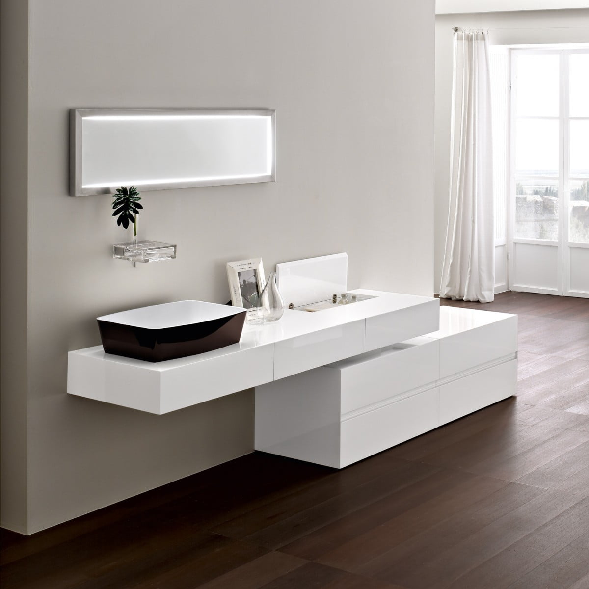 cuarto de bao moderno diseo
