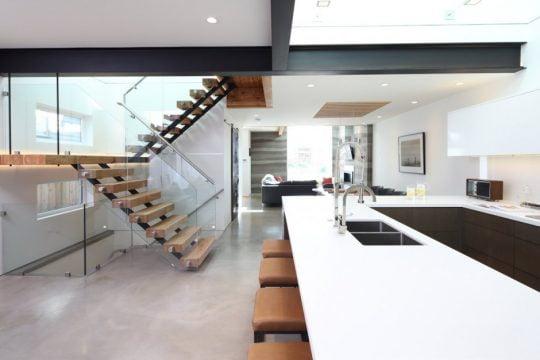 Casa Moderna de 2 Niveles Ecológica | Constructora Paramount