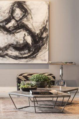 Pinturas y muebles de arte contemporáneo de exquisito gusto