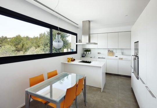 Diseño de la pequeña cocina – comedor