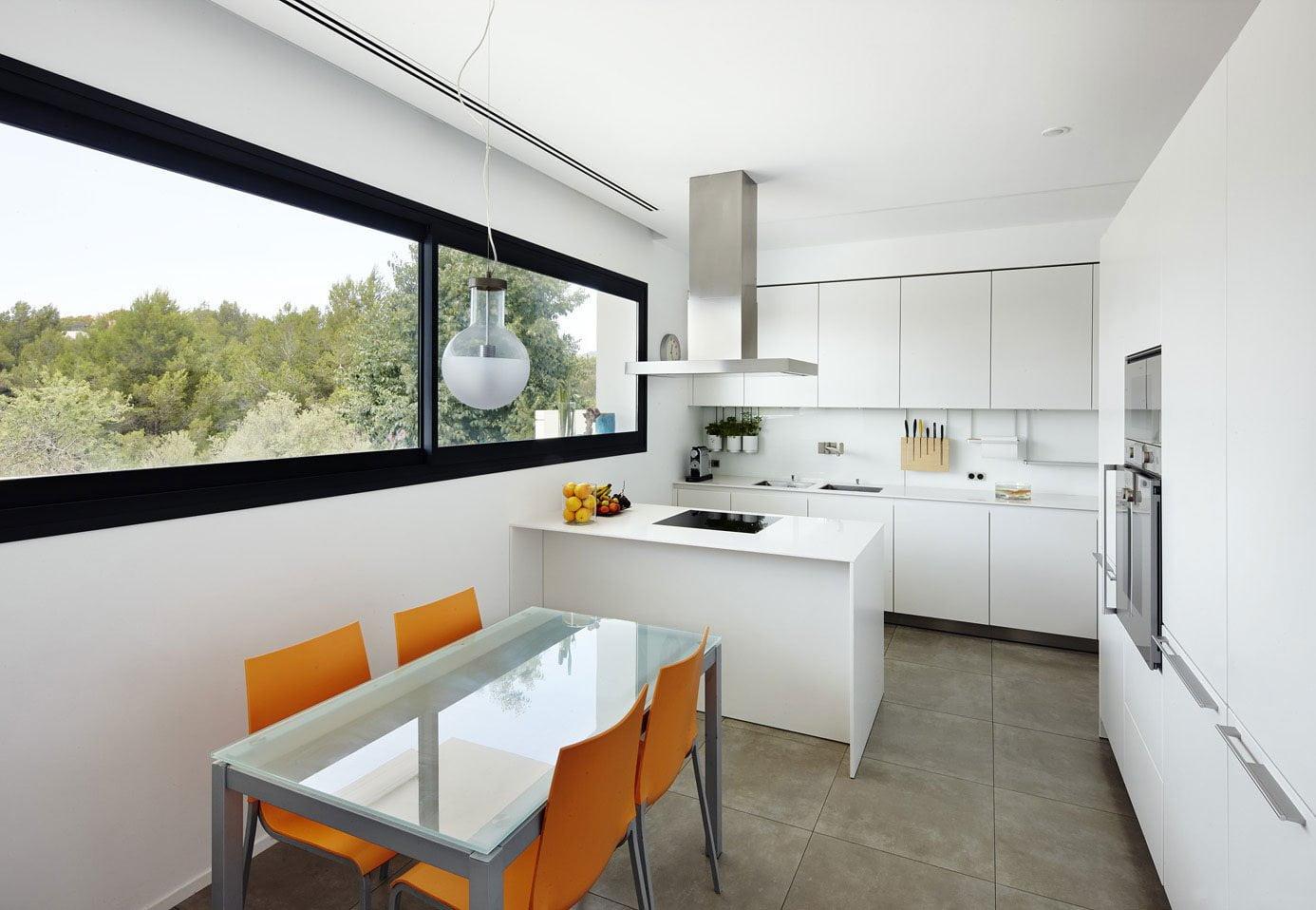 Diseño-de-cocina-comedor-pequeño - Constructora Paramount