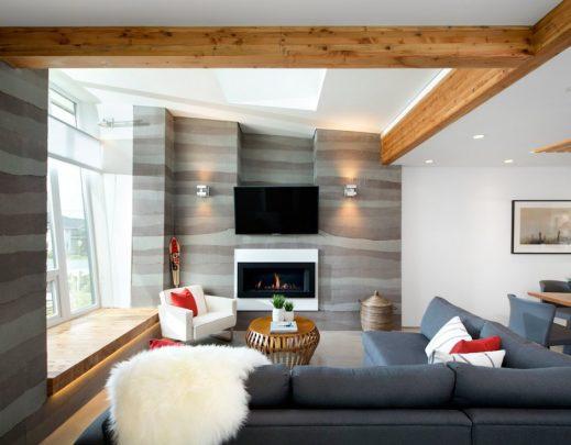 Diseño de interiores de sala