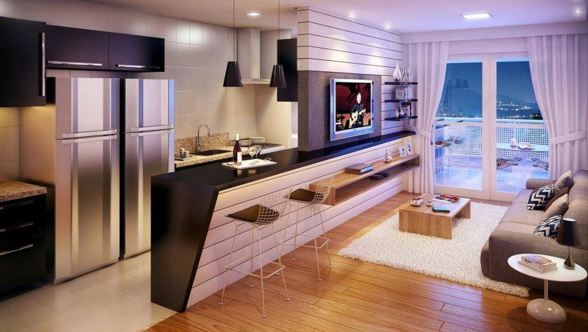 Televisores Pequeños Para Cocina | Ideas Para Aprovechar Al Maximo El Espacio En Departamentos Pequenos