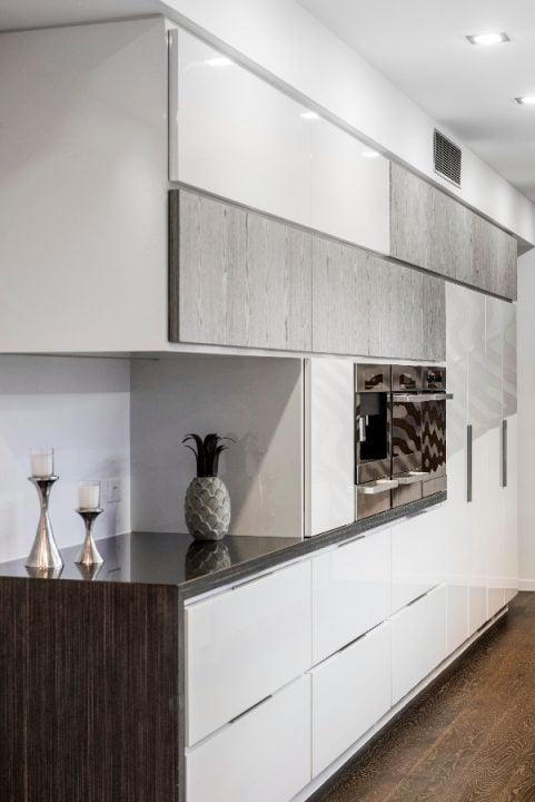 Diseño de los muebles de la cocina