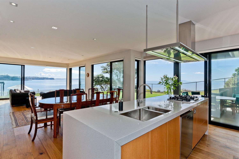 Diseño-de-cocina-comedor-modernas - Constructora Paramount