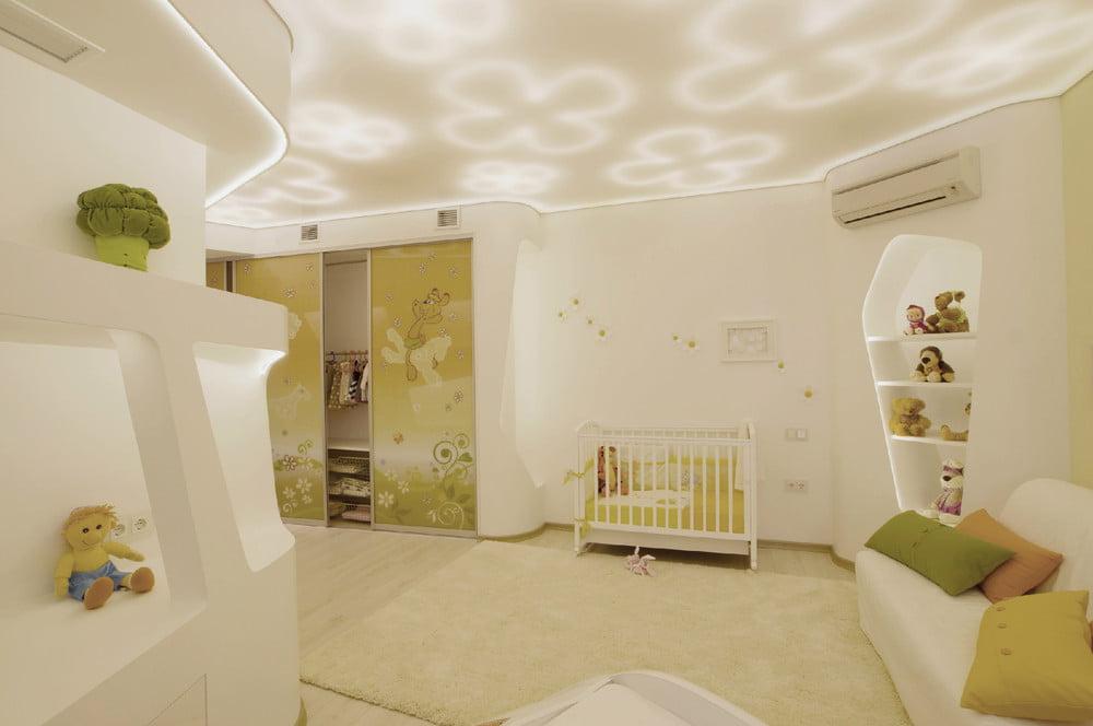 Diseño del dormitorio del bebe