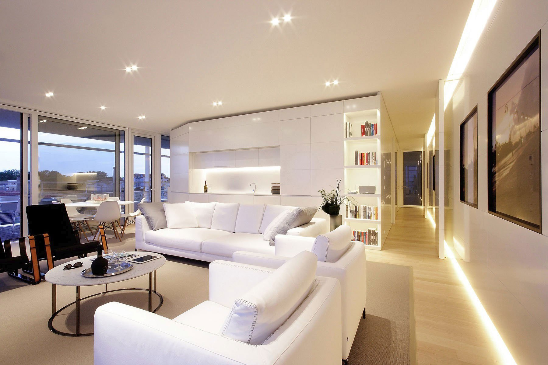 Diseño de interiores de la sala
