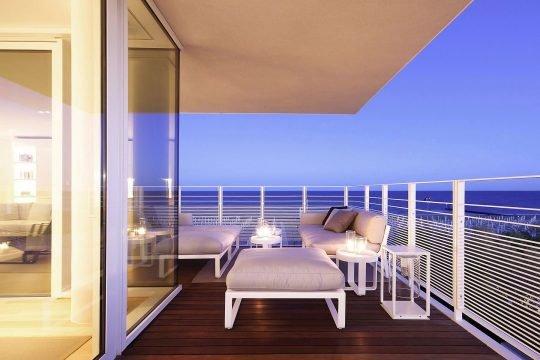 Diseño de la terraza