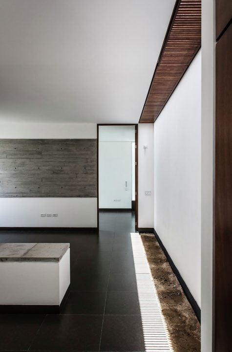 Diseño de Estar Tv. habitación ubicada en zona privada de la casa