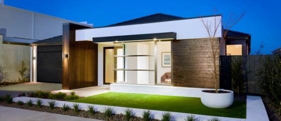 10 Diseños de Fachadas de Casas Modernas | Constructora Paramount