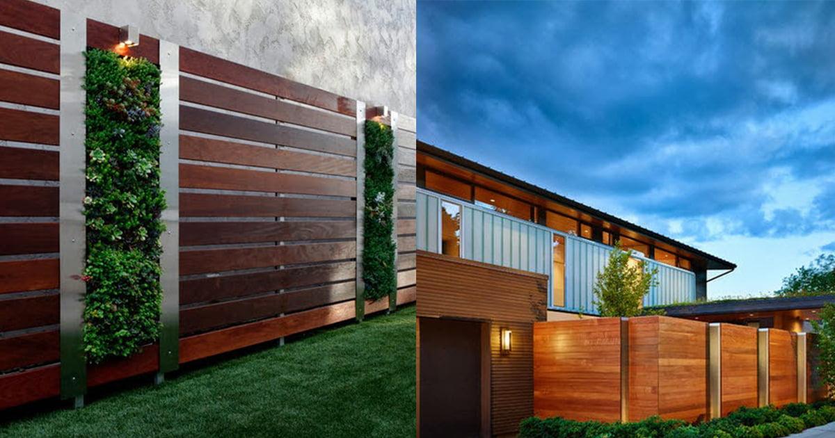 Cercos perimétricos para casas, diseños en diferentes materiales