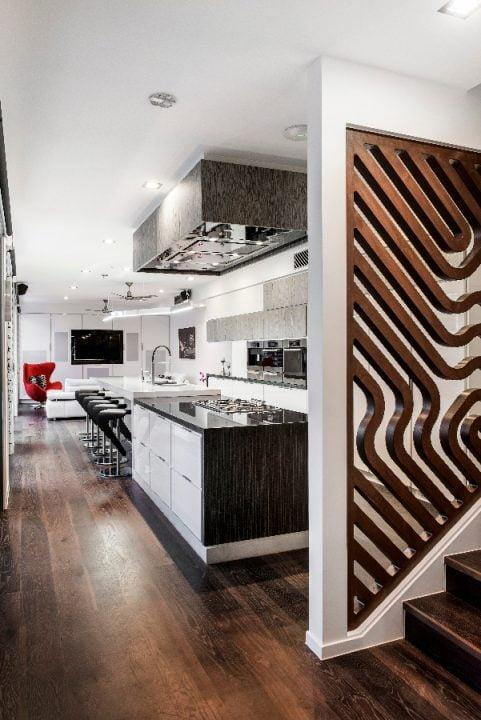 Diseño de una moderna cocina   Constructora Paramount
