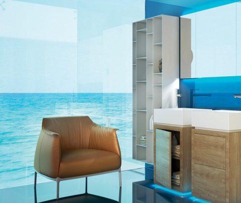 De acuerdo a la forma y color de los azulejos puedes conseguir diferentes efectos decorativos.
