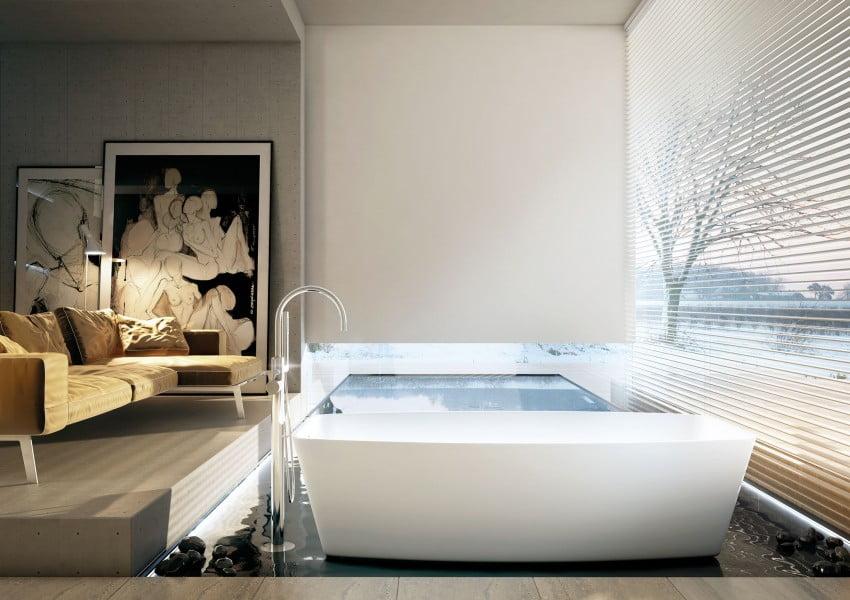 Decoración-de-baños-modernos-18 - Constructora Paramount