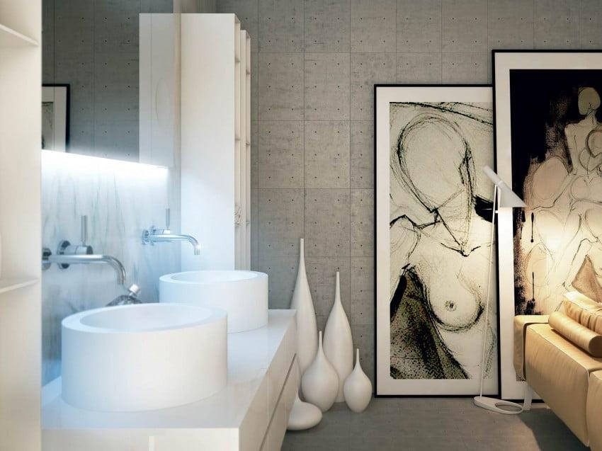 Decoración de cuartos de baño modernos - Constructora Paramount