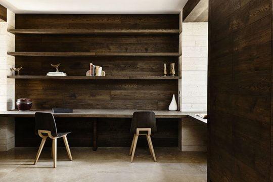 Diseño de la oficina o cuarto de estudio